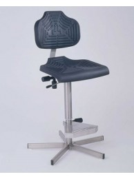 EDJ WS1411 High-Profile Stainless Steel Workseat