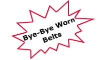 Bye Bye Worn Belts