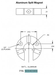Split Magnet Assembly