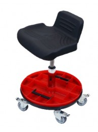 Tasq Tillable Work Seat Tool Trolley- WS3555